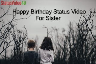 Latest Happy Birthday Status Video For Sister